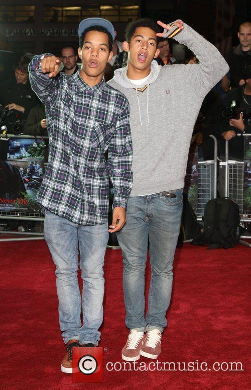 Rizzle Kicks and Odeon West End 1