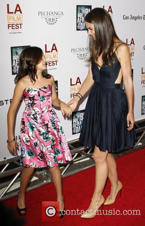 Bailee Madison and Katie Holmes 1