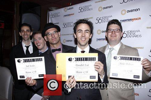 Nominees and Adam Godley 3