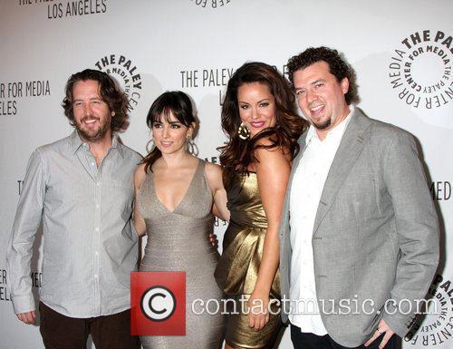 Ana De La Reguera, Danny Mcbride and Katy Mixon