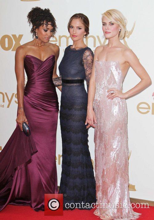Annie Ilonzeh, Minka Kelly, Rachael Taylor and Emmy Awards 1