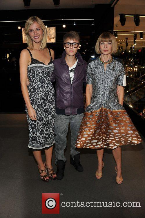 Brooklyn Decker, Anna Wintour and Justin Bieber