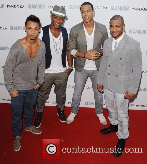 Jls and Glamour Women Of The Year Awards 7