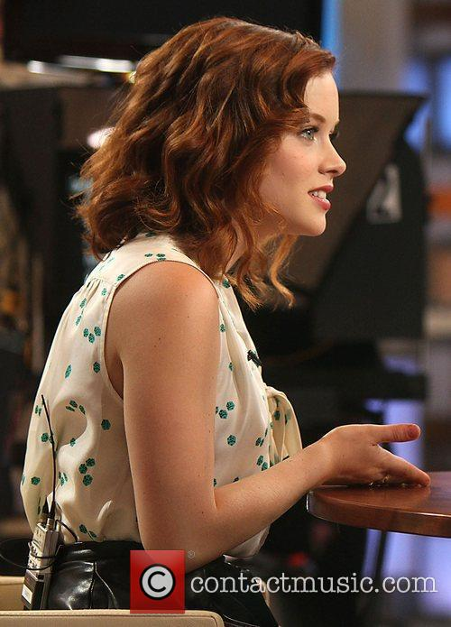 Jane Levy and Good Morning America 8