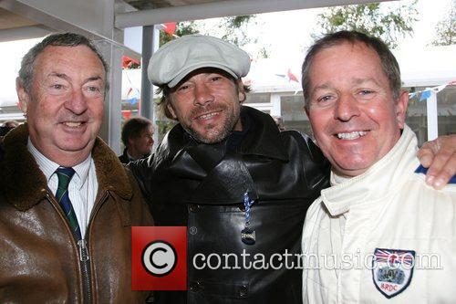 Nick Mason and Jay Kay