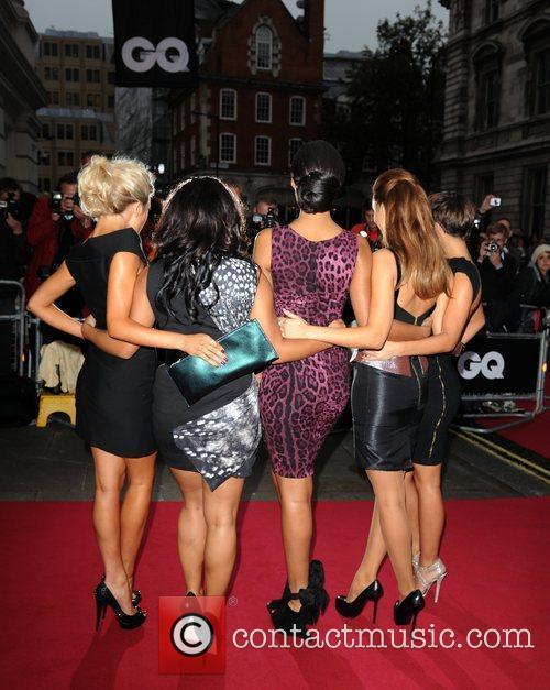 Frankie Sandford, Mollie King, Rochelle Wiseman, The Saturdays, Una Healy and Vanessa White