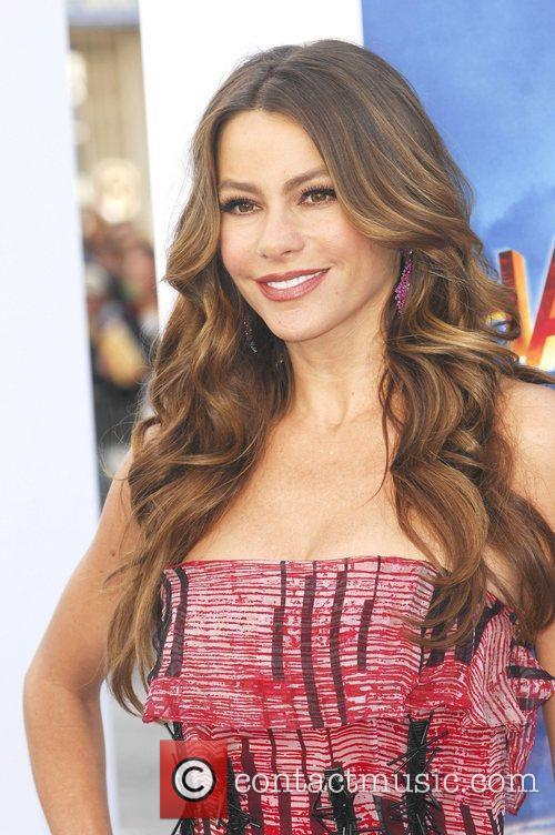 Sofia Vergara and Grauman's Chinese Theatre