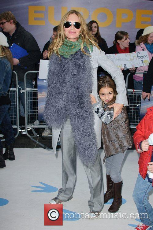 Trinny Woodall and Empire Leicester Square