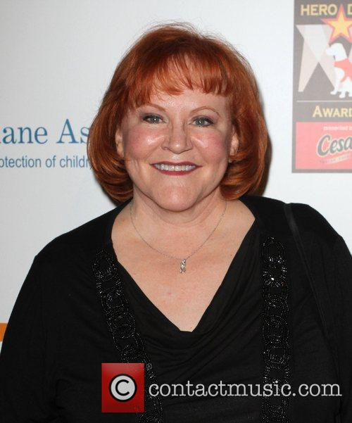 Edie Mcclurg and Beverly Hilton Hotel