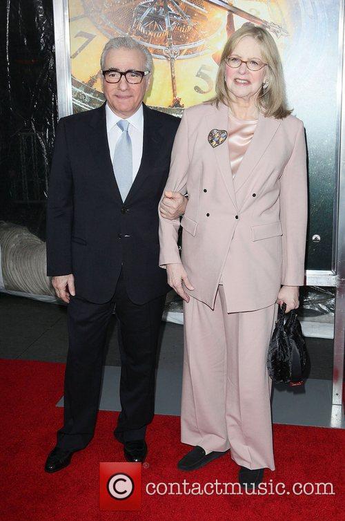 Martin Scorsese, Helen Scorsese and Ziegfeld Theatre