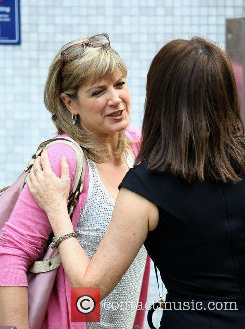 Penny Smith and Carol Vorderman
