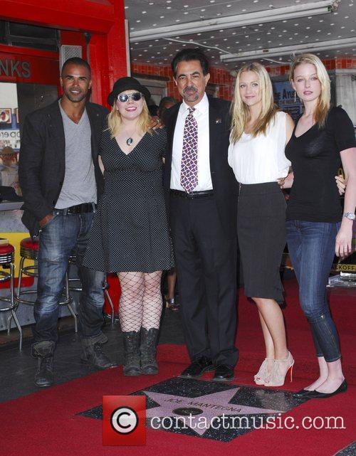 Shemar Moore, A.j. Cook, Joe Mantegna, Kirsten Vangsness and Rachel Nichols