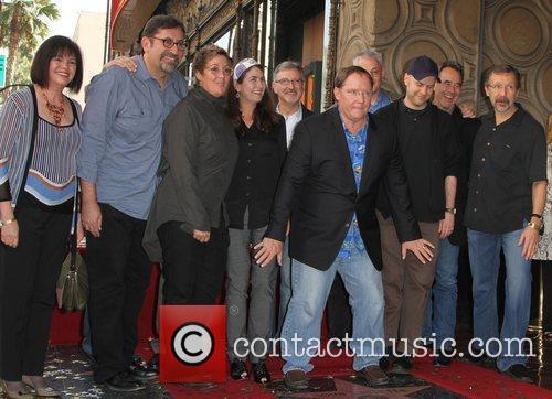 John Lasseter, Pixar and Star On The Hollywood Walk Of Fame