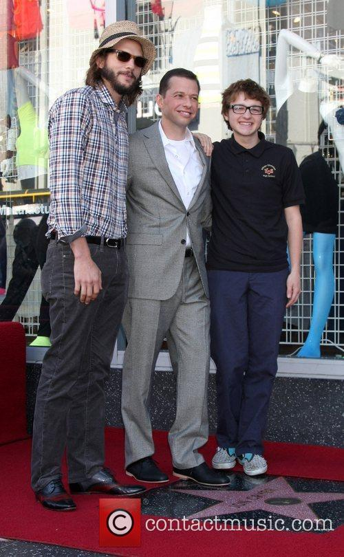 Ashton Kutcher, Angus T. Jones and Jon Cryer