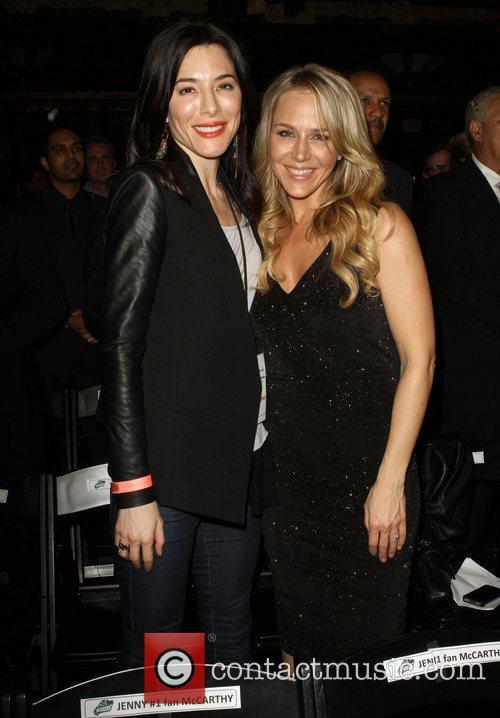 Jaime Murray and Julie Benz