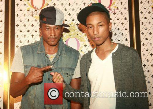 Q-tip and Pharrell Williams
