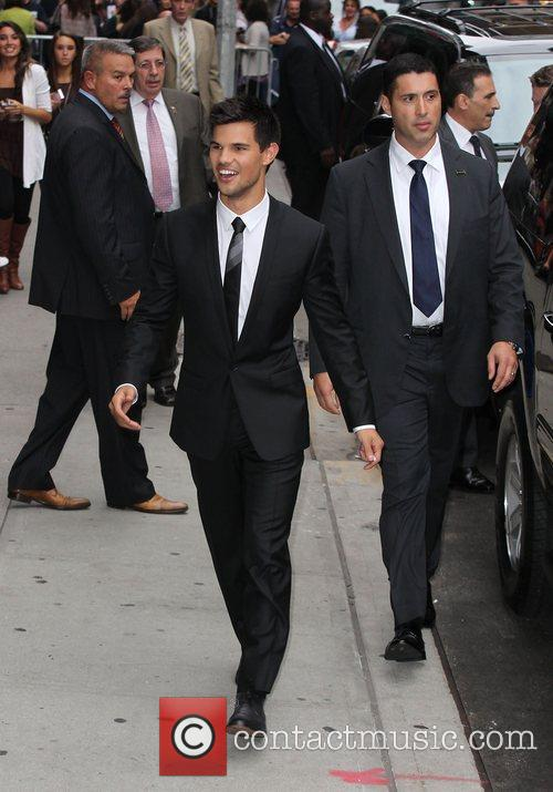 Taylor Lautner, Ed Sullivan and The Late Show With David Letterman 1