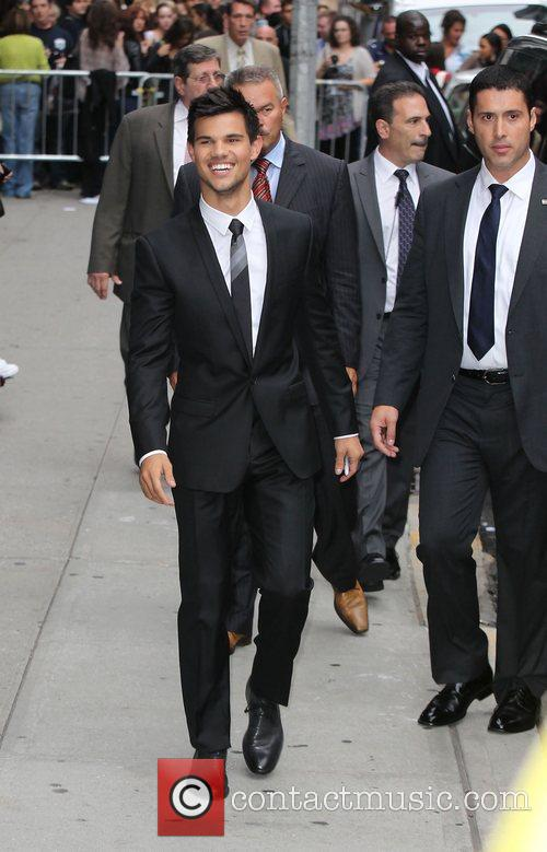 Taylor Lautner, Ed Sullivan and The Late Show With David Letterman