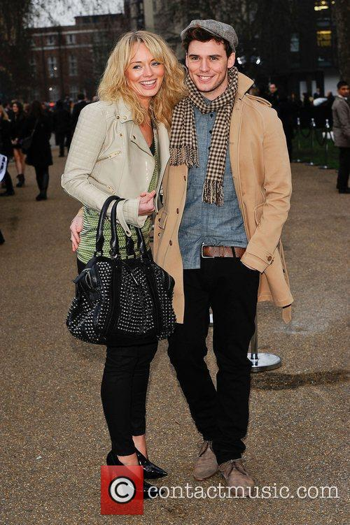 Sam Claflin and London Fashion Week