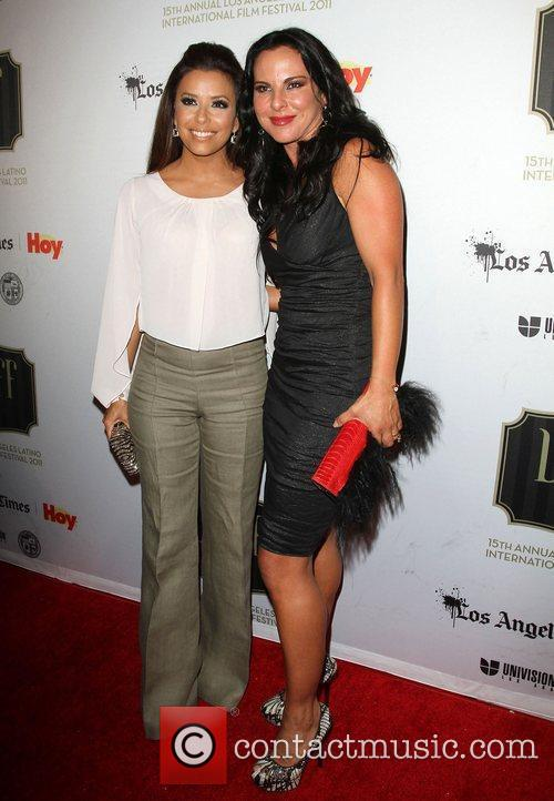 Eva Longoria and Kate Del Castillo