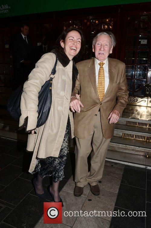 Leslie Phillips and London Palladium