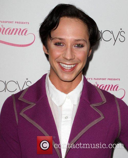 Johnny Weir and Macy's 1