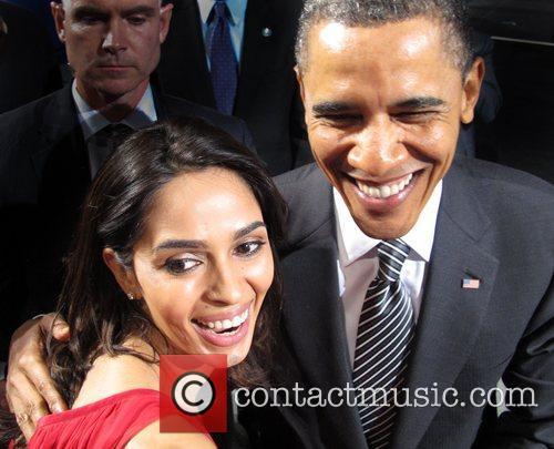 Mallika Sherawat and Barack Obama