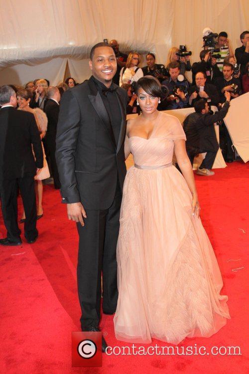 Carmelo Anthony and Lala Vasquez 1