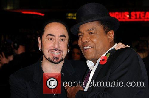 David Gest, Tito Jackson and Empire Leicester Square