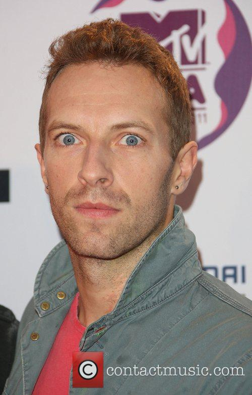 Chris Martin, Coldplay and Mtv European Music Awards 2