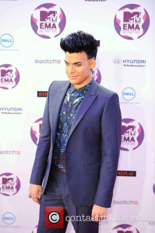 Adam Lambert and Mtv European Music Awards 7