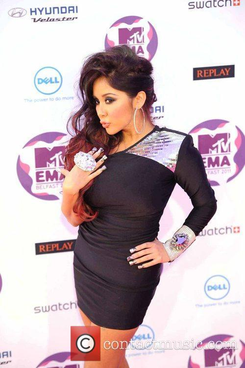 Nicole Polizzi and Mtv European Music Awards 6