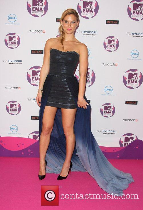 Bar Refaeli and Mtv European Music Awards