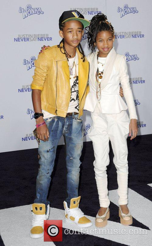 Jaden Smith, Justin Bieber and Willow Smith
