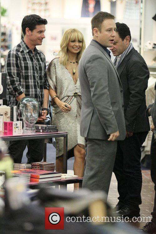 Nicole Richie and Fred Segal 2