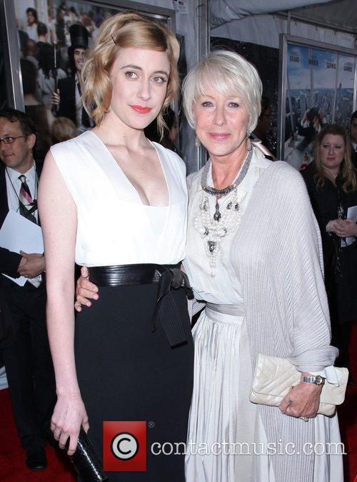 Greta Gerwig and Helen Mirren 8