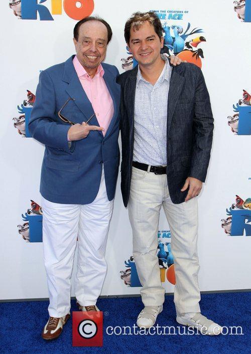 Sergio Mendes and Carlos Saldanha 2