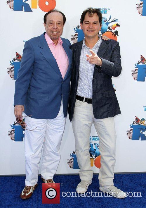 Sergio Mendes and Carlos Saldanha 9
