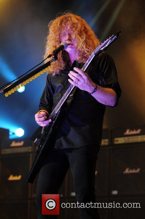 Dave Mustaine and Mayhem 8