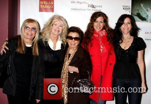 Nancy Sinatra, Connie Stevens, Joely Fisher and Tricia Leigh Fisher
