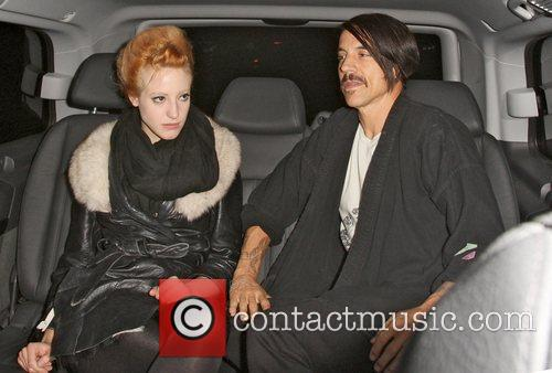 Anthony Kiedis and Beth Jeans Houghton