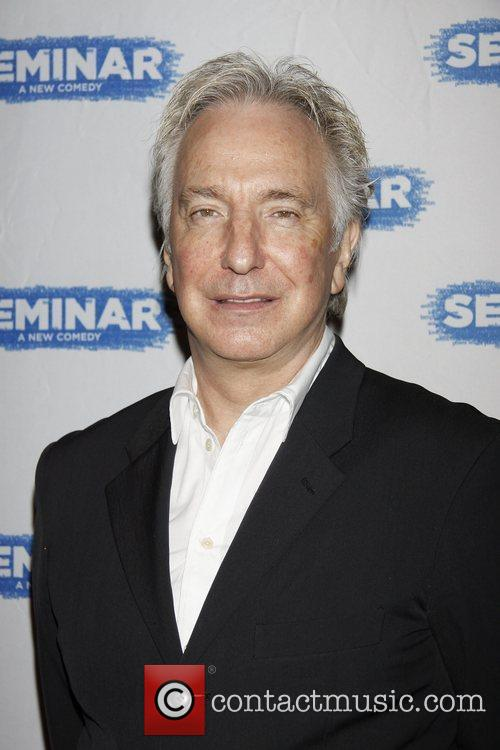 Alan Rickman and Gotham Hall