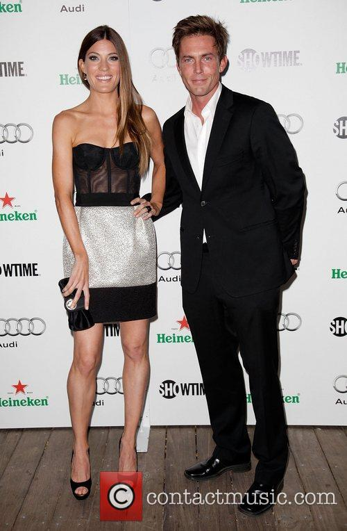 Jennifer Carpenter and Desmond Harrington