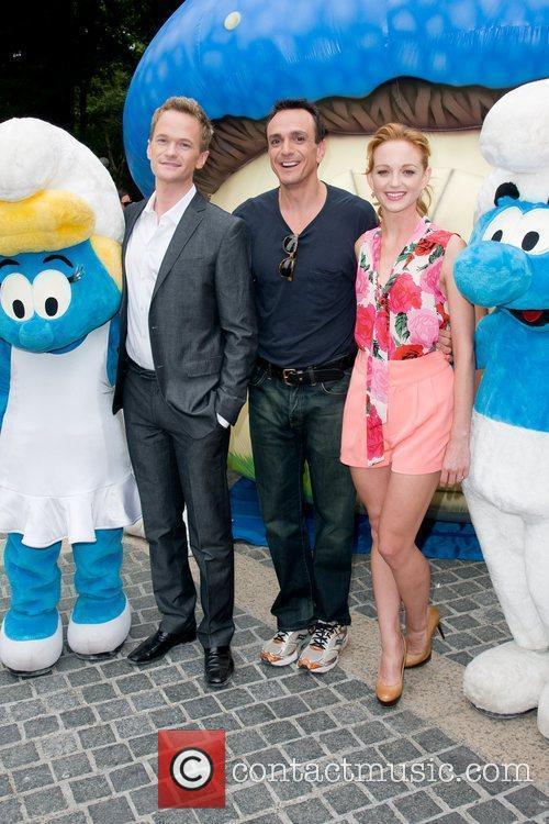 Neil Patrick Harris, Hank Azaria and Jayma Mays 4
