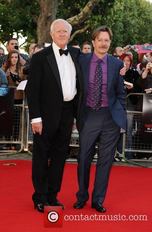 Gary Oldman and John Le Carre