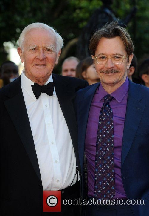 John Le Carre and Gary Oldman 6