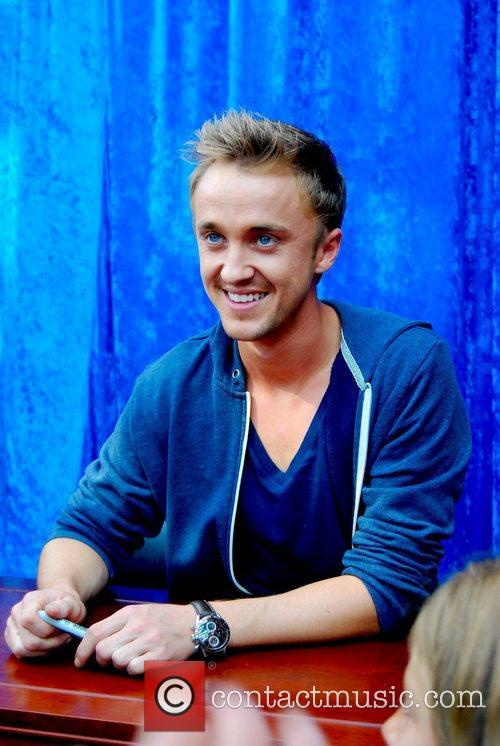 Harry Potter and Tom Felton 4