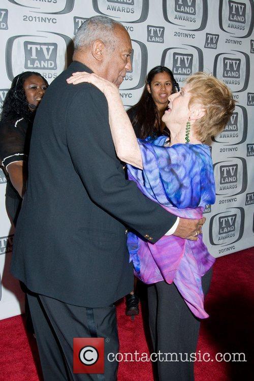 Cloris Leachman and Bill Cosby