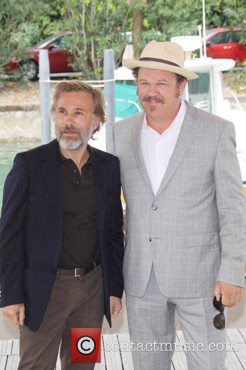 Christoph Waltz and John C Reilly