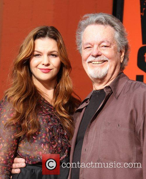 Amber Tamblyn, Russ Tamblyn and Grauman's Chinese Theatre